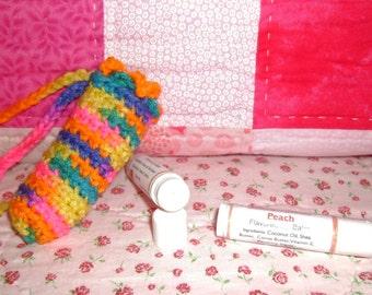 Peach Lip Balm and Cuticle Softener