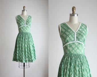 1950s clover dress