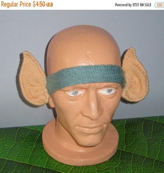 SALE 30% OFF Instant Digital File PDF Download knitting pattern -madmonkeyknits Pixie Ears Headband pdf download knitting pattern