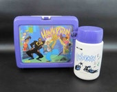 """Vintage MC Hammer """"Hammerman"""" Lunchbox with Thermos"""