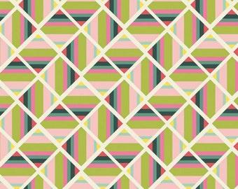Joie de Vivre Collection Angle Folie Pristine Art Gallery Fabric