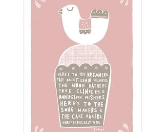The Dreamers - Fine Art Print