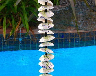 Modern Design, Wind chimes, garden sculpture, garden decoration or home decor, Home and Living, art and collectibles
