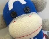 Cosplaying Captian America Sock Monkey - Steve