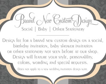 Custom Design - Brand New Social, Baby and Stationery