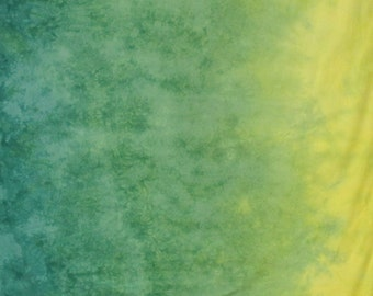 Gradient Hand Dyed Fabric - Envy