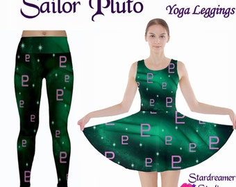 Sailor Pluto Inspired Skater Dress In Stock Sale