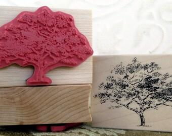 Little Tree rubber stamp from oldislandstamps