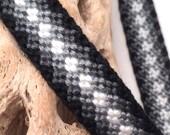 Black & white friendship bracelet
