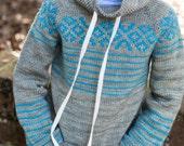 make your own Brochan Sweater (DIGITAL KNITTING PATTERN) Toddler Child Tween Boy
