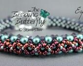 Espalier Bracelet Tutorial - RAW Beadweaving Pattern