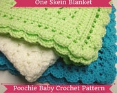 Preemie Blanket PATTERN - Crochet Baby Blanket Made with One Skein