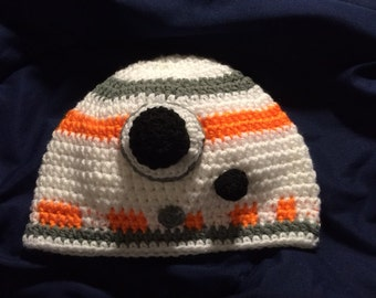 Star Wars inspired BB 8 Hat