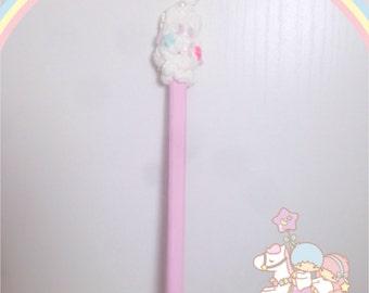 Stick hair fermacapelli fairy kei pink sweet