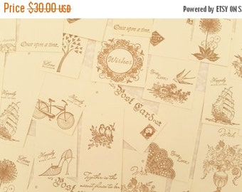SALE 180 Wedding Wish Tree Tags Guest Book Alternative Wishing Tree Tags with Holes French Inspired Collection