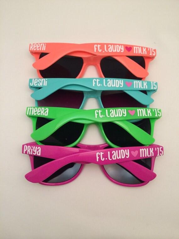 Personalized Sunglasses Bachelorette Party