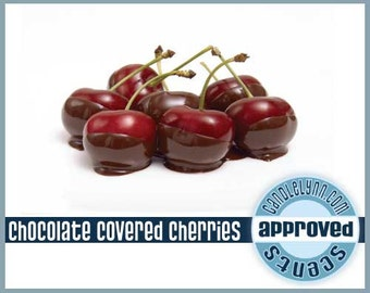 CHOCOLATE COVERED CHERRIES - scented Clam Shell Package - Tarts