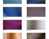 FAT QUARTER Linen chambray fabric 50cm x 70cm by Japanese LINNET compliment to kimono silk and wool colours