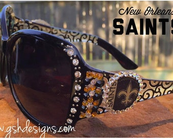 New Orleans Saints Inspired Sunglasses