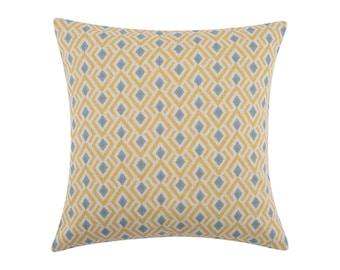 YELLOW Pillow Cover.Decorator Pillow Cover.Home Decor.Large Print. ARCHERY COLLINS.Cushions. Cushion.Pillow. Premier Prints