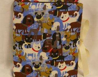 Dogs Handmade Padded Fabric Photo Album