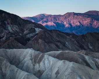 Zabriske Point, Death Valley National Park - Fine Art Print