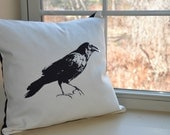 Crow Treasure pillow