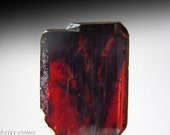 Tiny Red Brookite Crystal, Rare Fully Terminated Piece // Root & Third Eye Chakra // Crystal Healing // Mineral Specimen