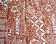 Vintage Fabric - Hawaiian Calico Print - By the Yard