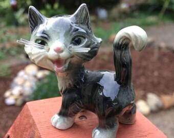 Goebel Gray Tabby Cat Figurine W Germany