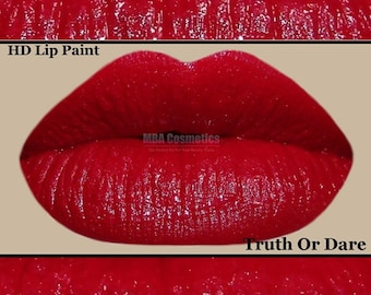 Matte Red HD Lip Paint - Truth Or Dare