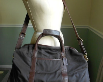 Coach Travel Bag / Overnight Bag / Weekender Bag / Duffle Bag