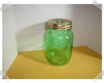 Small Glass Jar with Lid/Home Decor/ Supplies*