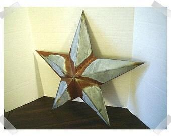 Metal Galvanized/Rusty Star Wall Decoration/Home Decor/Craft Supplies*