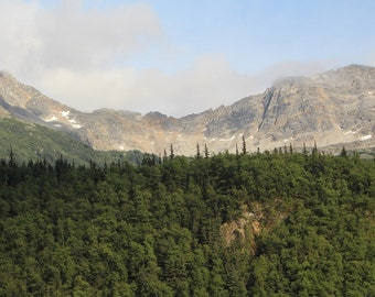 Cruising through the Inside Passage, in Alaska, digital download image, photograph