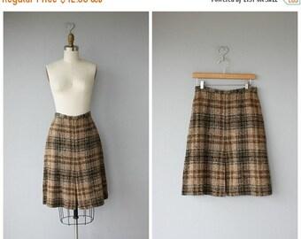 25% OFF SALE... Vintage Wool 60s Skirt | 1960s Wool Skirt | Vintage 60s Skirt | 60s Wool Skirt | Vinatge Plaid Skirt