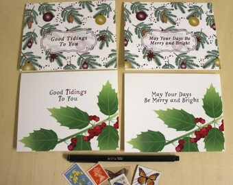 Christmas Greeting Cards - Boxed Set of 4