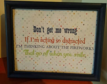 Printable Sign: Don't Get Me Wrong