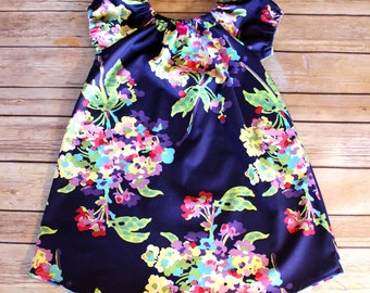 Big Sister DRESS Sizes 12 months through 12- Choose Fabric to Match Moms Hospital Maternity Gown and Baby Gowns - Name For 10 dollars extra