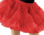 Petticoats - Tutus - Crinoline Apron Add On to Wear Underneath Retro Flirty Pinup Womens Aprons