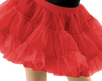 Petticoats - Tutus - Crinoline Apron Add On to Wear Underneath Retro Flirty Pinup Womens Aprons