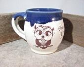 Owl Mug - 16-18 oz mug - by Blaine Atwood - item 3540