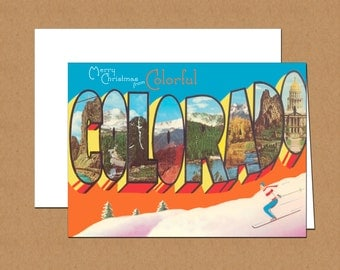 Merry Christmas From Colorado Holiday Cards (set of 12)