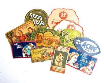 11 Vintage Sewing Needle Books, Sewing Needle Cases, Sewing Advertising, 1930-1950s Sewing Notions, Instant Collection