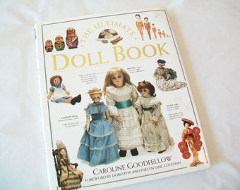The Ultimate Doll Book, 1993, Hardcover, with book jacket