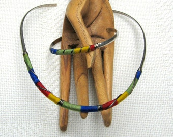 Sterling Silver Necklace Bracelet Rainbow Set Signed 925 Mexico