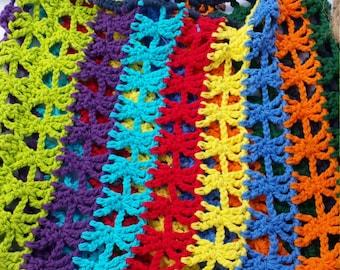 Color Slam Mesh Bag w/ Braided Shoulder Strap
