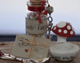 Tooth Fairy Kit - Ruby Red