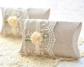 FREE SHIPPING ~ Set of 2 Cottage Style Pillow Gift Boxes