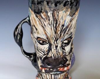 Wolf Boy Mug 6